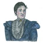 Maria Pauly (Zeichnung von Stefania Peter)